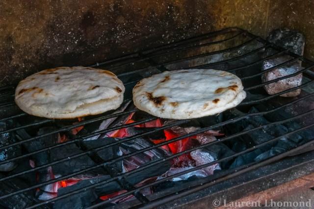 grilled arepas